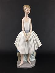 Sale 8545N - Lot 154 - Nao Figure of a Girl (H:32cm)