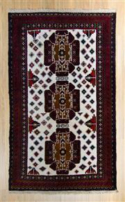 Sale 8576C - Lot 38 - Perasian Baluchi 216cm x 116cm
