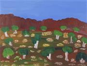 Sale 8718 - Lot 506 - Munmarria Daisy Andrews (1934 - 2015) - Lumpu Lumpu (Wet Time), 1999 acrylic on paper