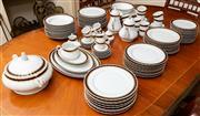 Sale 8882H - Lot 37 - A large Bavarian porcelain dinner tea and coffee service, possibly Tettau