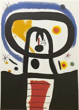 Sale 9108A - Lot 5001 - Joan Miro (1893 - 1983) - Equinox 86 x 63 cm