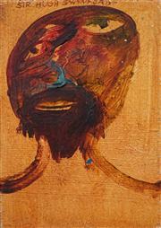 Sale 8420 - Lot 505 - Anne Hall (1945 - ) (5 works) - Sir Hugh Swynford; Lady Katherine Swynford; Untitled (3) various sizes: 30.5 x 17cm (largest), 15.5...