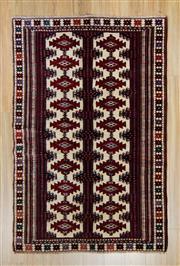 Sale 8576C - Lot 39 - Persian Turkman 190cm x 125cm