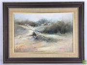 Sale 8649R - Lot 99 - John Lovett - Oil on Board - (44 x 29cm)