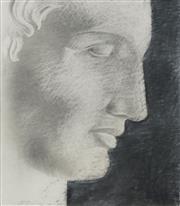 Sale 8732 - Lot 524 - Michael Zavros (1974 - ) - Hermes Study After Maplethorpe, 1999 63.5 x 55.5cm