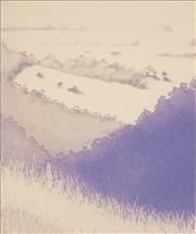 Sale 9047A - Lot 5088 - Peter Hickey (1943 - ) - Kanimbla Valley, 1990 19.5 x 16.5 cm, 25 x 33 cm (sheet size)
