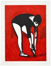 Sale 8330A - Lot 37 - Robert Dickerson (1924 - 2015) - The Dress Rehearsal 76 x 56cm