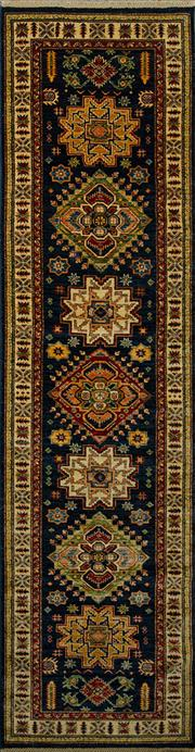 Sale 8424C - Lot 4 - Afghan Super Kazak 311cm x 81cm