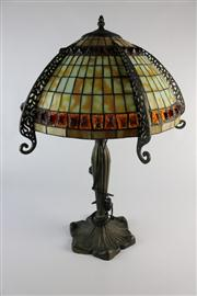 Sale 8432 - Lot 7 - Art Deco Style Lamp
