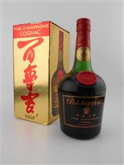 Sale 8479 - Lot 1724 - 1x Bisquit VSOP Cognac - old botting in box