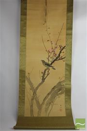 Sale 8505 - Lot 55 - Chinese Scroll Depicting Bird