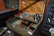 Sale 8509 - Lot 2210 - Jewellery Box & Contents