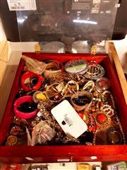 Sale 8582 - Lot 2340 - Cabinet Costume Jewellery etc
