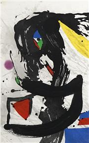 Sale 8704 - Lot 576 - Joan Miro (1893 - 1983) - Le Naufrauge, 1981 69 x 43.5cm