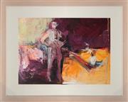 Sale 8771 - Lot 2010 - Val Landa (1940 - ) - Checkmate 54.5 x 74.5cm (frame: 84 x 104cm)