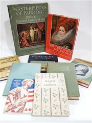 Sale 8822B - Lot 826 - Collection of American Books incl Wincklmann Writings on Art, ed. D. Irwin, pub. Phaidon, 1972; Nutting, W. Pennsylvania Beautifu...