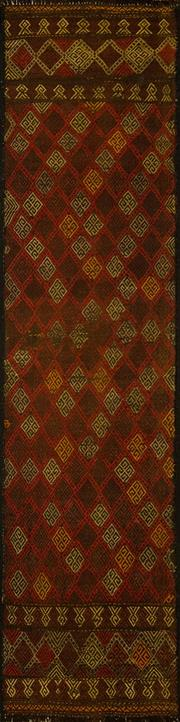 Sale 8424C - Lot 5 - Morocca Kilim Runner 310cm x 66cm