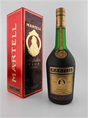 Sale 8479 - Lot 1714 - 1x Martell Medaillon VSOP Cognac - old botting in box