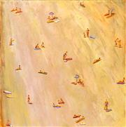 Sale 8652A - Lot 5033 - Nigel Gillings - Beach Days 62 x 61cm