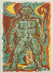 Sale 8696A - Lot 5009 - André Masson (1896 - 1987) - Titan Crapaud, 1972 37 x 29cm