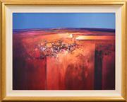 Sale 8408 - Lot 514 - Mel Brigg (1950 - ) - Desert Light 74.5 x 100cm