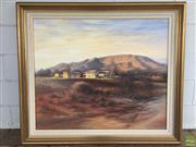 Sale 8649R - Lot 100 - Bill Beavan - Oil on Board - (89 x 74.5cm)
