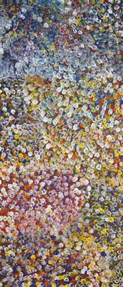 Sale 8722 - Lot 521 - Polly Ngale (c1936 - ) - Bush Plum 204 x 88cm