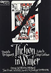 Sale 8766A - Lot 5079 - Paul Hoyne - The Lion in Winter colour screenprint