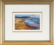 Sale 8953 - Lot 2054A - Artist Unknown - Harbour Foreshore 16 x 27 cm (frame: 48 x 58 x 4 cm)