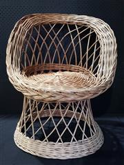 Sale 8971 - Lot 1021 - Cane Tub Chair (H:75 x W:63 x D:47cm)