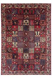 Sale 9061C - Lot 48 - Persian Fine Bakhtiar Garden Design RuG, 220x315cm, Handspun Wool