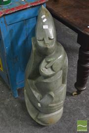 Sale 8390 - Lot 1410 - Shona Stone Sculpture