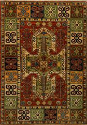 Sale 8424C - Lot 7 - Afghan Super Kazak 180cm x 128cm