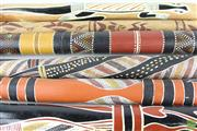 Sale 8578 - Lot 96 - Collection of Various Didgeridoo inc Carved and Painted Decorations ( 5)