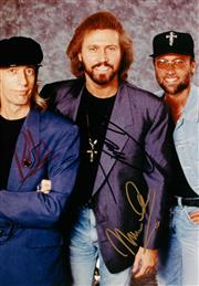 Sale 8635A - Lot 5007 - Barry, Robin and Mauriace Gibb (Bee Gees)
