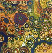 Sale 8708A - Lot 541 - Judy Martin - Ngayuku Ngura (My Country) 101 x 101cm