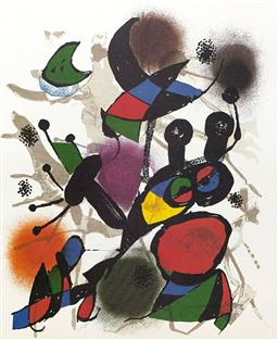 Sale 9108A - Lot 5002 - Joan Miro (1893 - 1983) - Volume III 50 x 39 cm