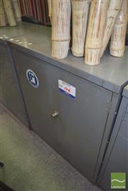 Sale 8390 - Lot 1233 - Industrial 2 Door Locker