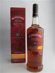 Sale 8454X - Lot 82 - 1x Bowmore Distillery 10YO Inspired by the Devils Casks Series Islay Single Malt Scotch Whisky - 46% ABV, 1000ml in box