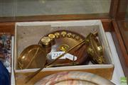 Sale 8509 - Lot 2256 - Gold Scale & Weights