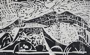Sale 8892 - Lot 504 - Guy Grey-Smith (1916 - 1981) - Mt Augustus Rock Face, 1975, 30.5 x 50.5 cm