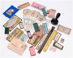 Sale 9190E - Lot 70 - A tray of pins etc