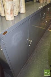 Sale 8390 - Lot 1234 - Industrial 2 Door Locker