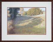 Sale 8441T - Lot 2001 - Alan Purnell (active 1980s) - Pastoral Scene 32.5 x 46.5cm