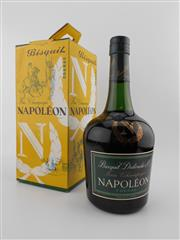Sale 8479 - Lot 1725 - 1x Bisquit Napoleon Cognac - old bottling in box