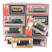 Sale 8545N - Lot 161 - Collection of Lima Model Train Carriages