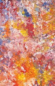 Sale 8866H - Lot 37 - Polly Ngale (c1936 - ) - Bush Plum 147 x 95cm