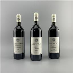 Sale 9173W - Lot 775 - 3x 1996 Lakes Folly Cabernets, Hunter Valley