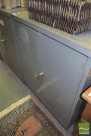 Sale 8390 - Lot 1232 - Industrial 2 Door Locker