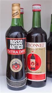 Sale 8486A - Lot 79 - 3 x bottles including; Rosso Antico, 2 x Dubonnet